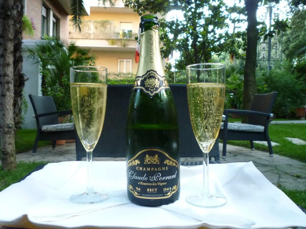 Champagne Claude Perrard Rome Italie