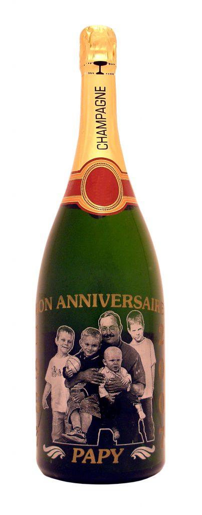 Персонализация этикеток шампанского