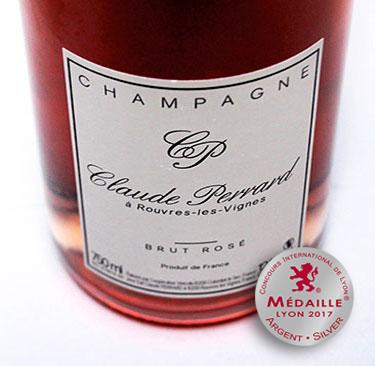 Champagner-Klaue-Perrard-Brut-Rose