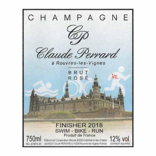 etiqueta de champán personalizada