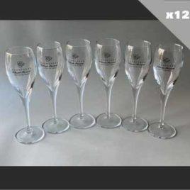 Copas de champán de 12 tazas